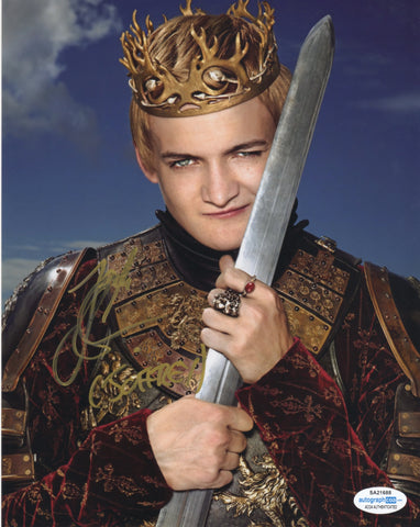 Jack Gleeson Game of Thrones Signed Autograph 8x10 Photo #8