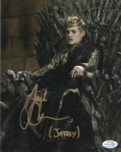 Jack Gleeson Game of Thrones Signed Autograph 8x10 Photo #9