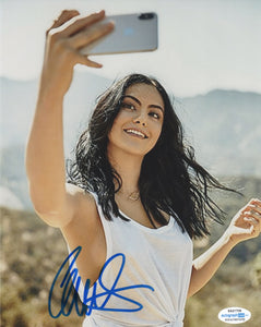 Camila Mendes Riverdale Signed Autograph 8x10 Photo ACOA #12
