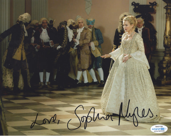 Sophia Myles Doctor Who Signed Autograph 8x10 Photo ACOA #2 - Outlaw Hobbies Authentic Autographs
