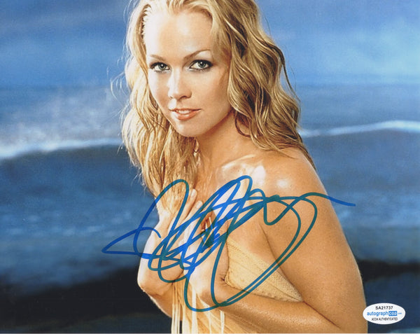 Jennie Garth 90210 Signed Autograph 8x10 Photo ACOA - Outlaw Hobbies Authentic Autographs