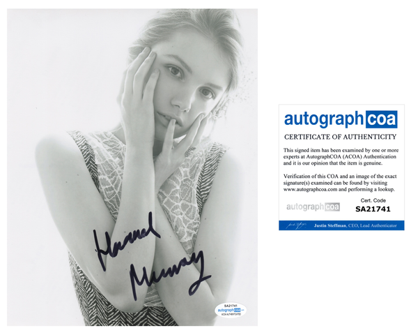 Hannah Murray Sexy Signed Autograph 8x10 Photo ACOA #4 - Outlaw Hobbies Authentic Autographs