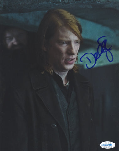 Domhnall Gleeson Harry Potter Signed Autograph 8x10 Photo ACOA #3 - Outlaw Hobbies Authentic Autographs