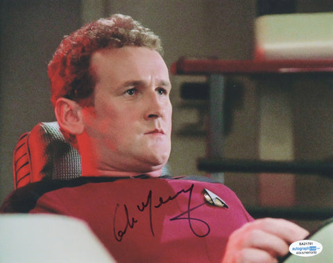 Colm Meaney Star Trek Signed Autograph 8x10 Photo ACOA