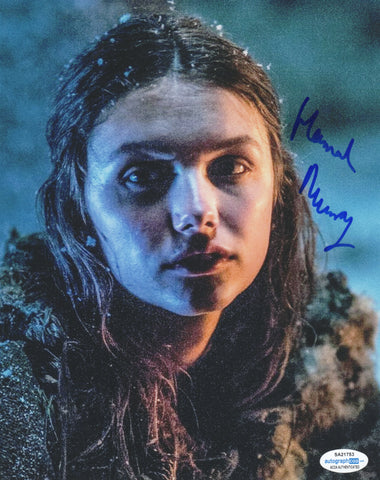 Hannah Murray Game of Thrones Signed Autograph 8x10 Photo ACOA #6