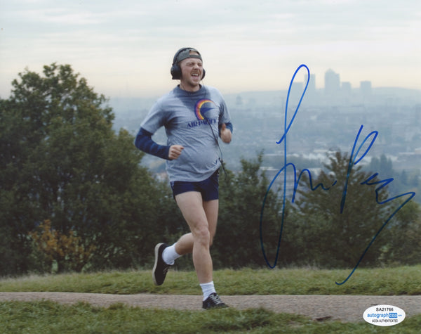Simon Pegg Fatboy Signed Autograph 8x10 Photo ACOA #2 - Outlaw Hobbies Authentic Autographs
