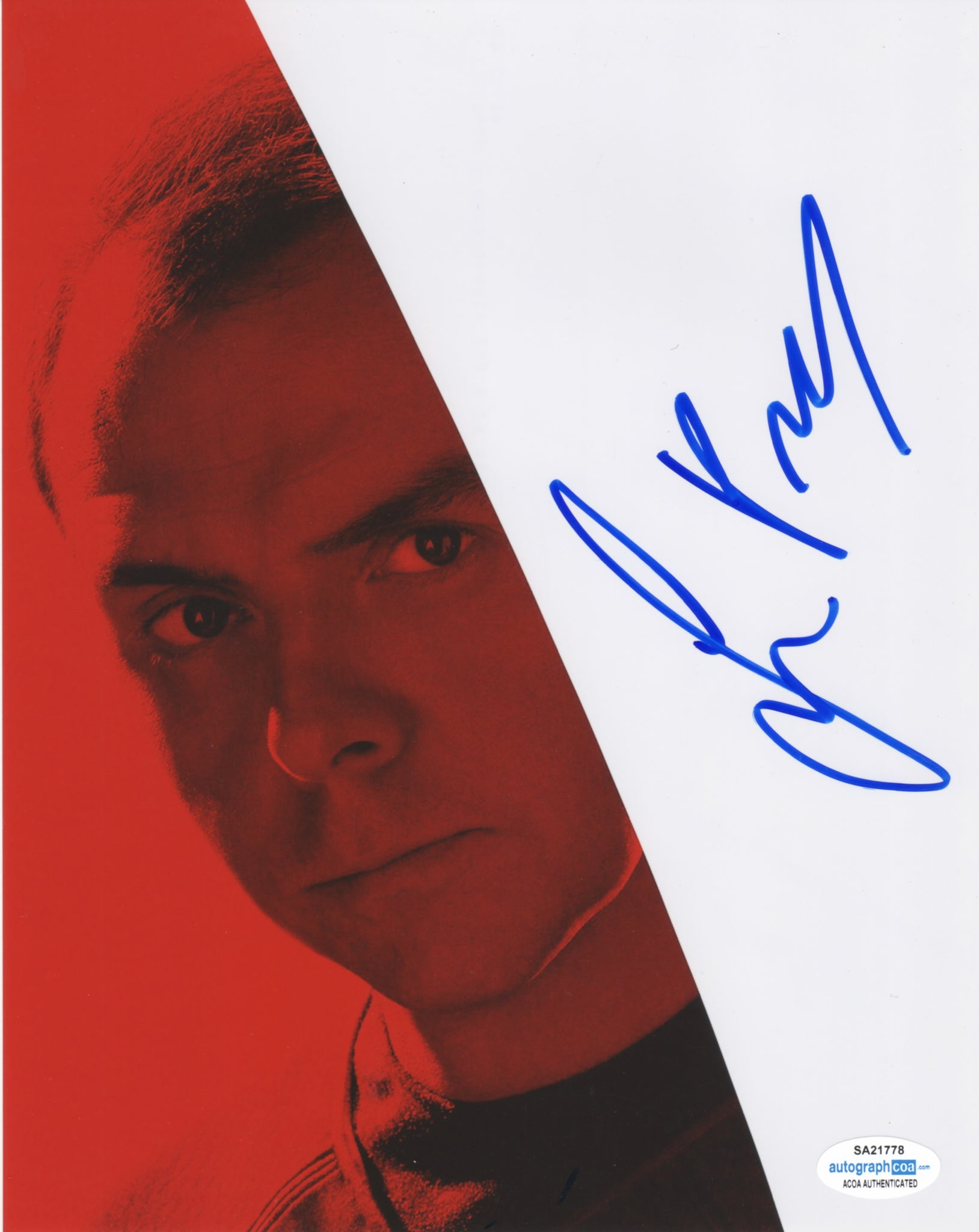 Simon Pegg Star Trek Signed Autograph 8x10 Photo ACOA #14 - Outlaw Hobbies Authentic Autographs