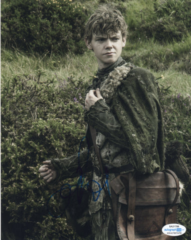 Thomas Brodie Sangster Game of Thrones Signed Autograph 8x10 Photo #2