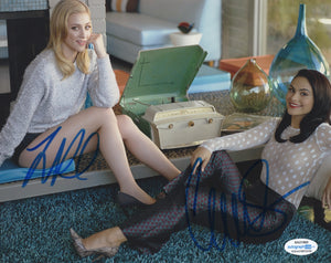 Camila Mendes Lili Reinhart Riverdale Signed Autograph 8x10 Photo ACOA - Outlaw Hobbies Authentic Autographs