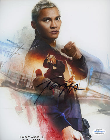 Tony Jaa XXX Signed Autograph 8x10 Photo ACOA Authentic #12 - Outlaw Hobbies Authentic Autographs