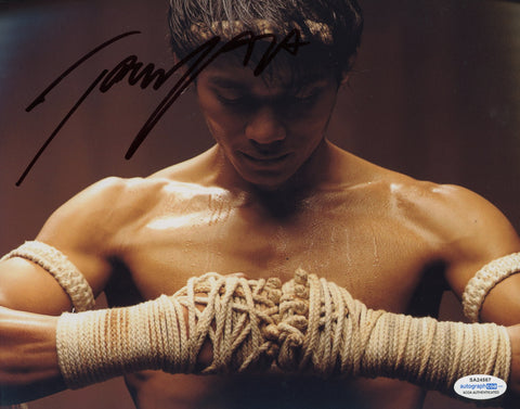 Tony Jaa Ong-Bak Signed Autograph 8x10 Photo ACOA Authentic #9 - Outlaw Hobbies Authentic Autographs