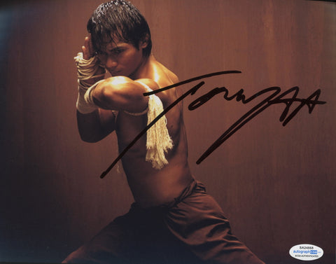 Tony Jaa Ong-Bak Signed Autograph 8x10 Photo ACOA Authentic #8 - Outlaw Hobbies Authentic Autographs
