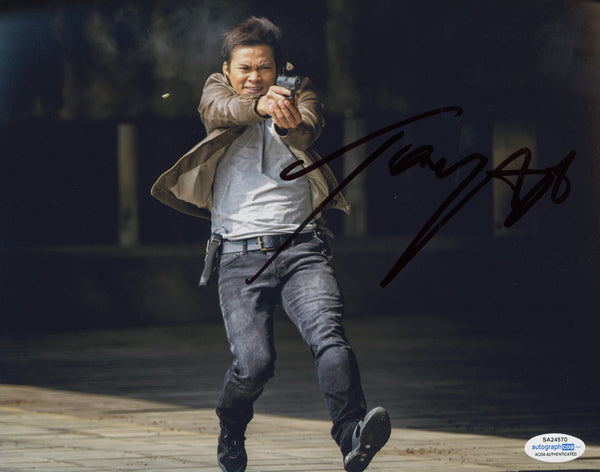 Tony Jaa Ong-Bak Signed Autograph 8x10 Photo ACOA Authentic #6 - Outlaw Hobbies Authentic Autographs