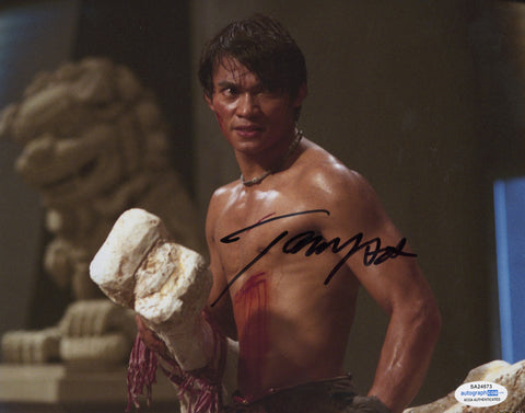 Tony Jaa Ong-Bak Signed Autograph 8x10 Photo ACOA Authentic #2 - Outlaw Hobbies Authentic Autographs