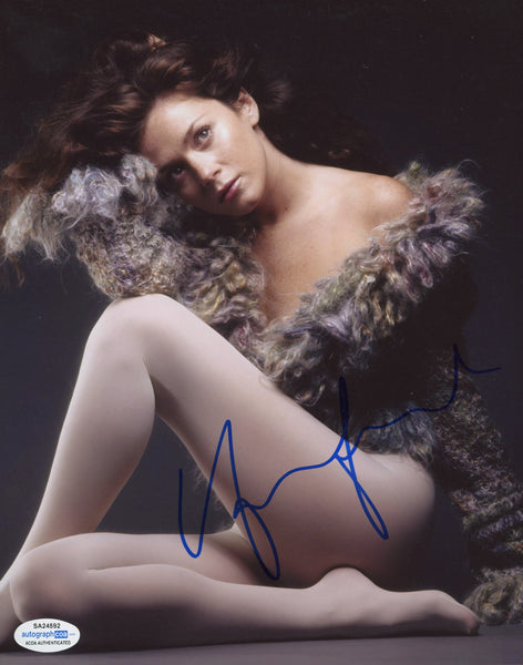 Anna Friel Sexy Signed Autograph 8x10 Photo ACOA #10 - Outlaw Hobbies Authentic Autographs