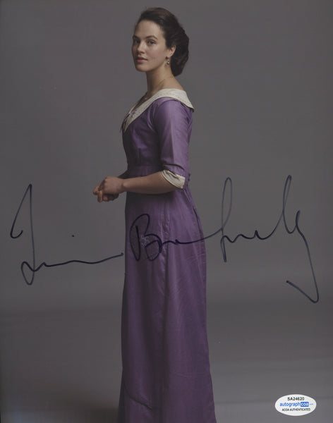 Jessica Brown Findlay Sexy Signed Autograph 8x10 Photo ACOA  #12 - Outlaw Hobbies Authentic Autographs
