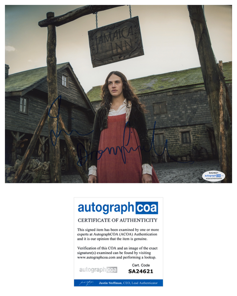 Jessica Brown Findlay Sexy Signed Autograph 8x10 Photo ACOA  #11 - Outlaw Hobbies Authentic Autographs