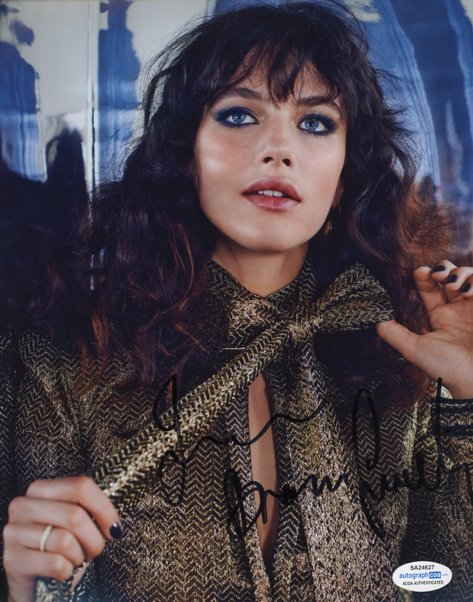 Jessica Brown Findlay Sexy Signed Autograph 8x10 Photo ACOA  #5 - Outlaw Hobbies Authentic Autographs