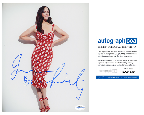 Jessica Brown Findlay Sexy Signed Autograph 8x10 Photo ACOA  #2 - Outlaw Hobbies Authentic Autographs