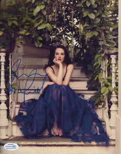 Jessica Brown Findlay Sexy Signed Autograph 8x10 Photo ACOA - Outlaw Hobbies Authentic Autographs