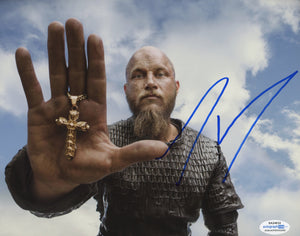 Travis Fimmel Signed Autograph Photo 8x10 ACOA Vikings - Outlaw Hobbies Authentic Autographs