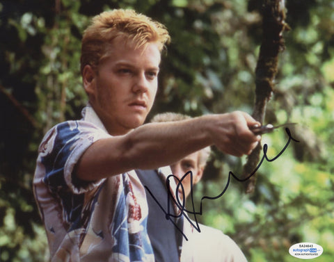 Kiefer Sutherland Stand By Me Signed Autograph 8x10 Photo ACOA - Outlaw Hobbies Authentic Autographs
