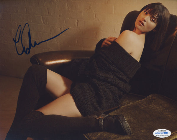 Gemma Arterton  Signed Autograph 8x10 Photo Sexy ACOA #14 - Outlaw Hobbies Authentic Autographs