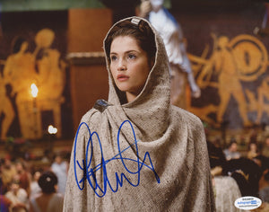 Gemma Arterton Prince Persia Signed Autograph 8x10 Photo Sexy ACOA #12 - Outlaw Hobbies Authentic Autographs