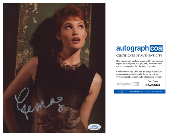 Gemma Arterton Bond Signed Autograph 8x10 Photo Sexy ACOA #4 - Outlaw Hobbies Authentic Autographs