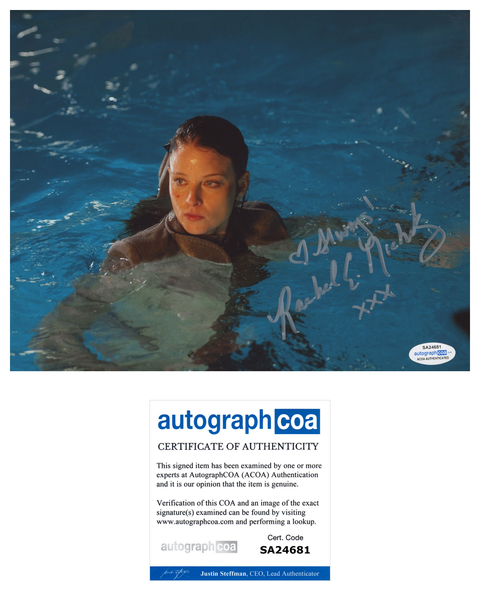 Rachel Nichols Sexy Signed Autograph 8x10 Photo ACOA Continuum - Outlaw Hobbies Authentic Autographs
