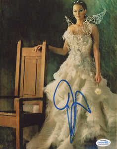 Jennifer Lawrence Hunger Games Signed Autograph 8x10 Photo ACOA Katniss - Outlaw Hobbies Authentic Autographs