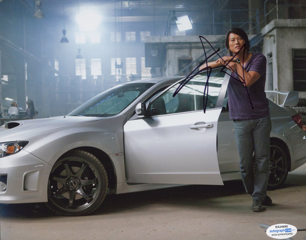 Sung Kang Fast and Furious Signed Autograph 8x10 Photo ACOA - Outlaw Hobbies Authentic Autographs