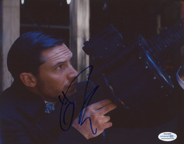 Tom Hardy Inception Autograph Signed DC 8x10 Photo ACOA #5 - Outlaw Hobbies Authentic Autographs