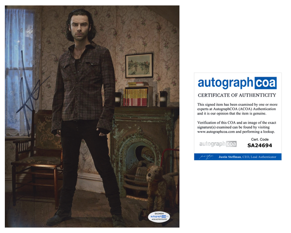 Aidan Turner Being Human Signed Autograph 8x10 Photo ACOA - Outlaw Hobbies Authentic Autographs
