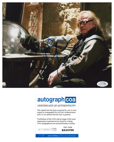Brendan Gleeson Harry Potter Signed Autograph ACOA Photo #4 - Outlaw Hobbies Authentic Autographs