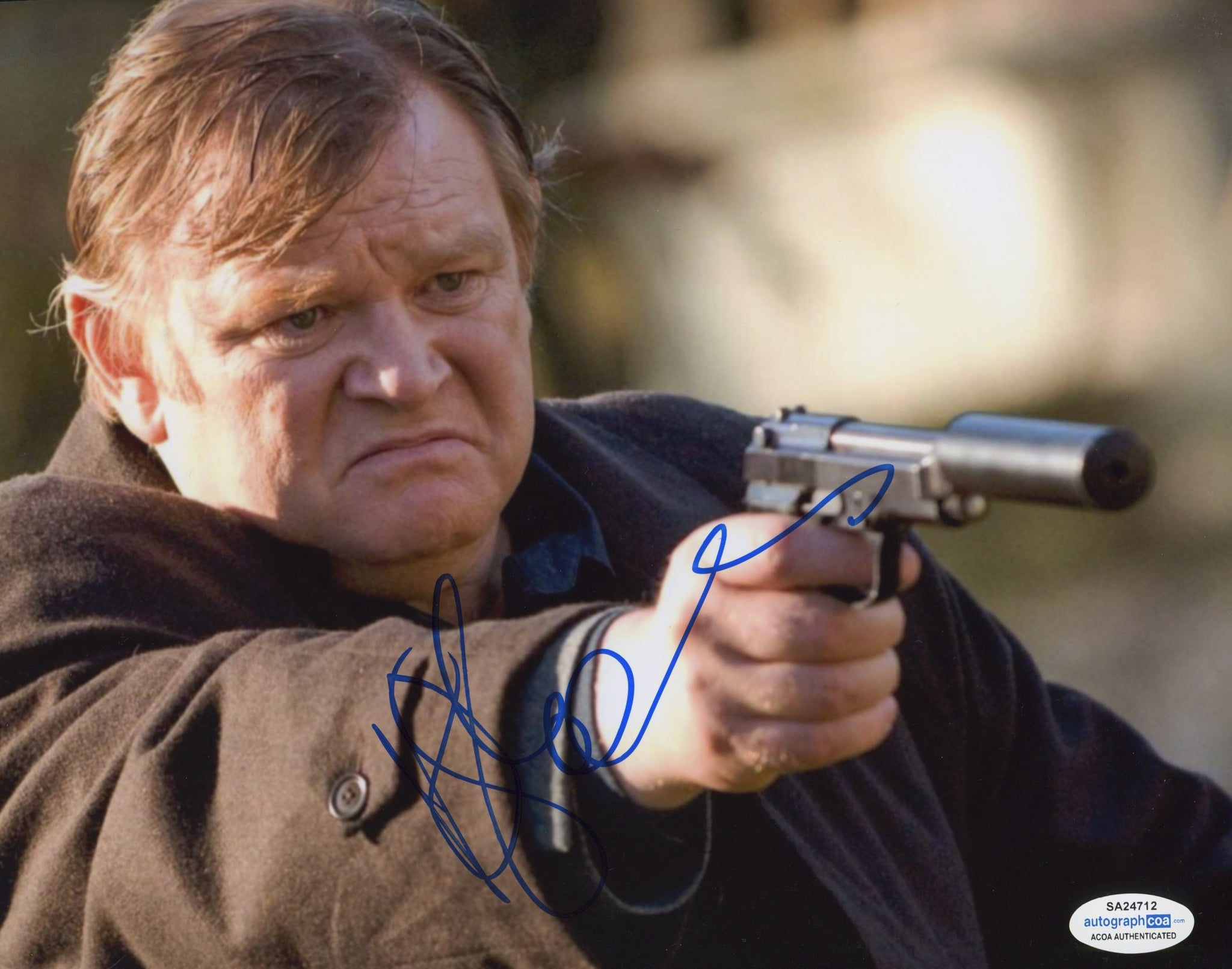 Brendan Gleeson In Bruges Signed Autograph ACOA Photo #7 - Outlaw Hobbies Authentic Autographs