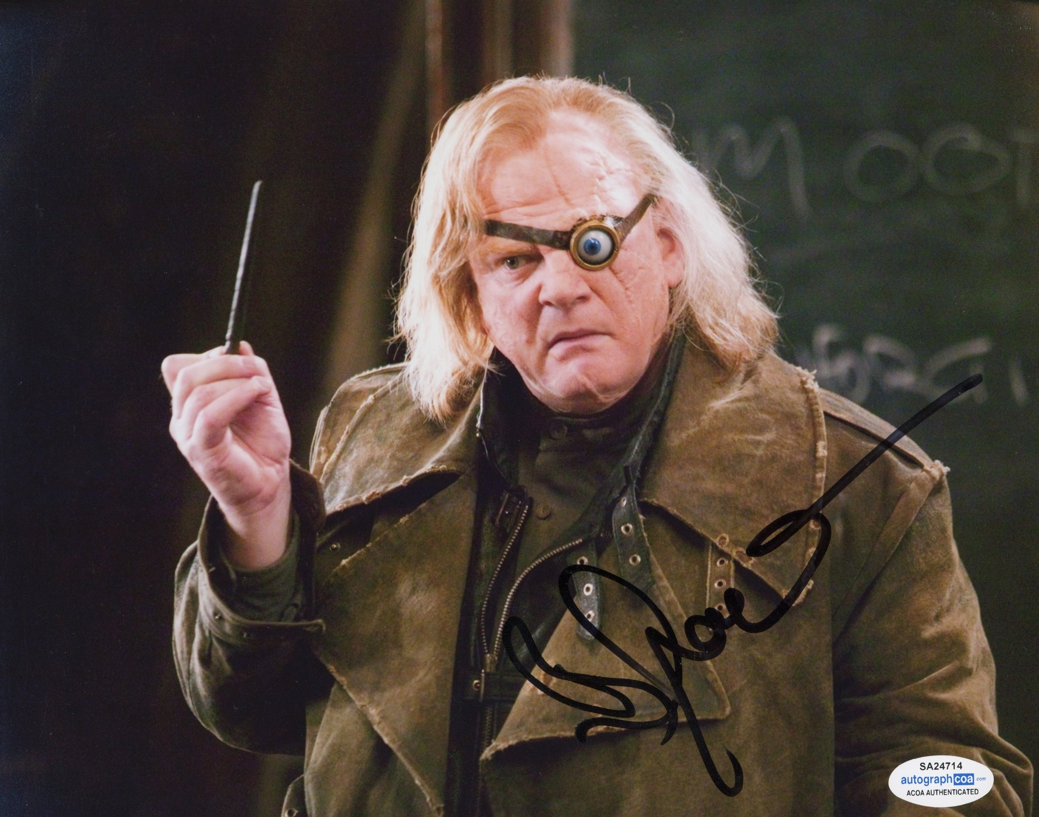Brendan Gleeson Harry Potter Signed Autograph ACOA Photo - Outlaw Hobbies Authentic Autographs