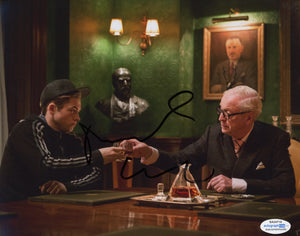 Michael Caine Kingsman Signed Autograph 8x10 Photo ACOA #3 - Outlaw Hobbies Authentic Autographs