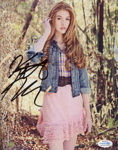 Katherine Kat McNamara Signed Autograph 8x10 Photo #3 - Outlaw Hobbies Authentic Autographs