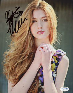 Katherine Kat McNamara Signed Autograph 8x10 Photo - Outlaw Hobbies Authentic Autographs