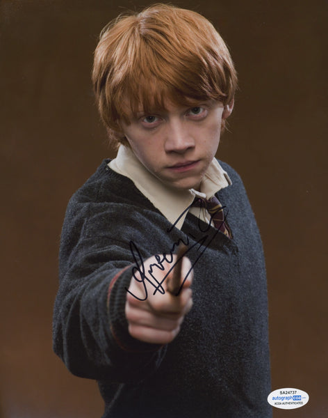 Rupert Grint Harry Potter Signed Autograph 8x10 ACOA #4 - Outlaw Hobbies Authentic Autographs