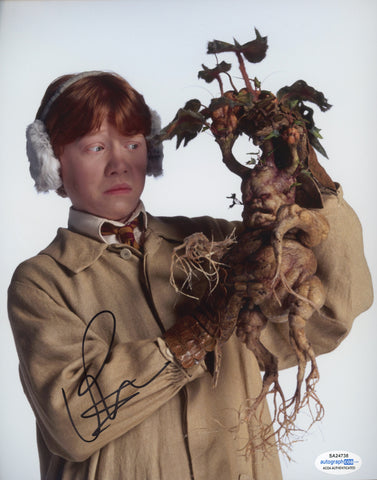 Rupert Grint Harry Potter Signed Autograph 8x10 ACOA #3 - Outlaw Hobbies Authentic Autographs