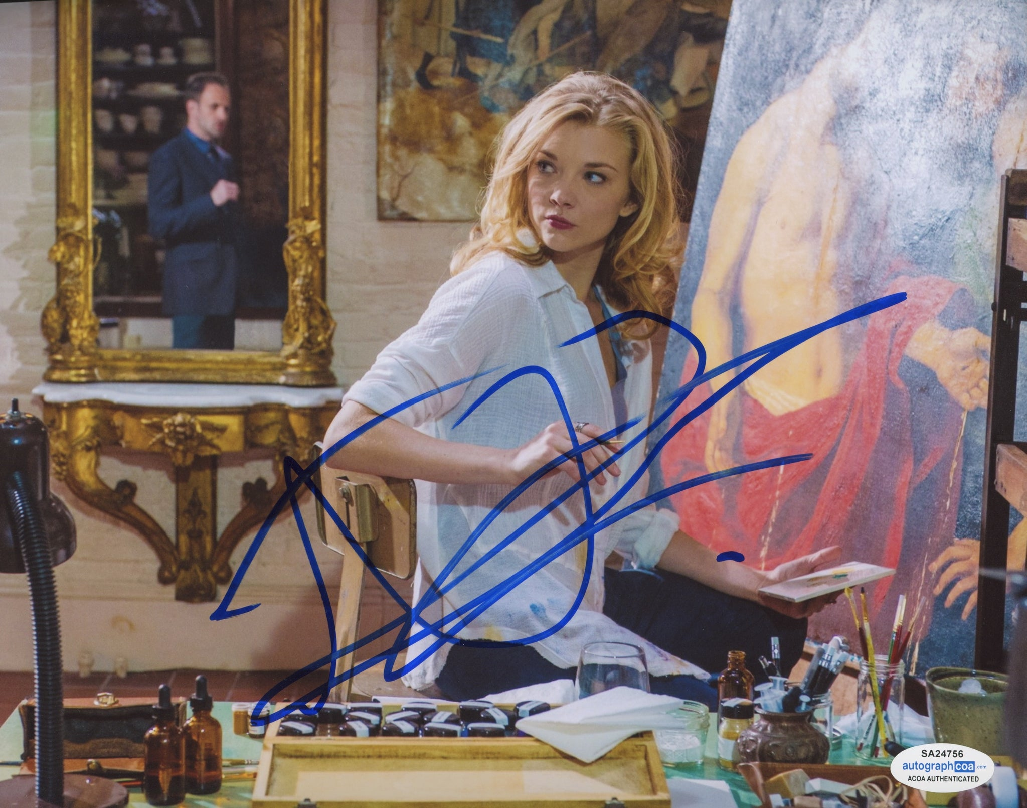 Natalie Dormer Sexy Elementary Signed Autograph 8x10 Photo #25 - Outlaw Hobbies Authentic Autographs