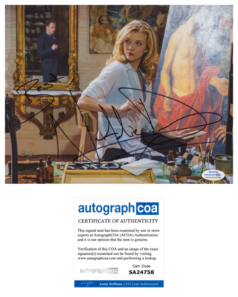 Natalie Dormer Sexy Elementary Signed Autograph 8x10 Photo #23 - Outlaw Hobbies Authentic Autographs