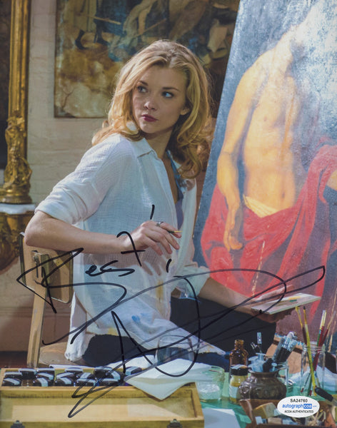 Natalie Dormer Sexy Elementary Signed Autograph 8x10 Photo #21 - Outlaw Hobbies Authentic Autographs