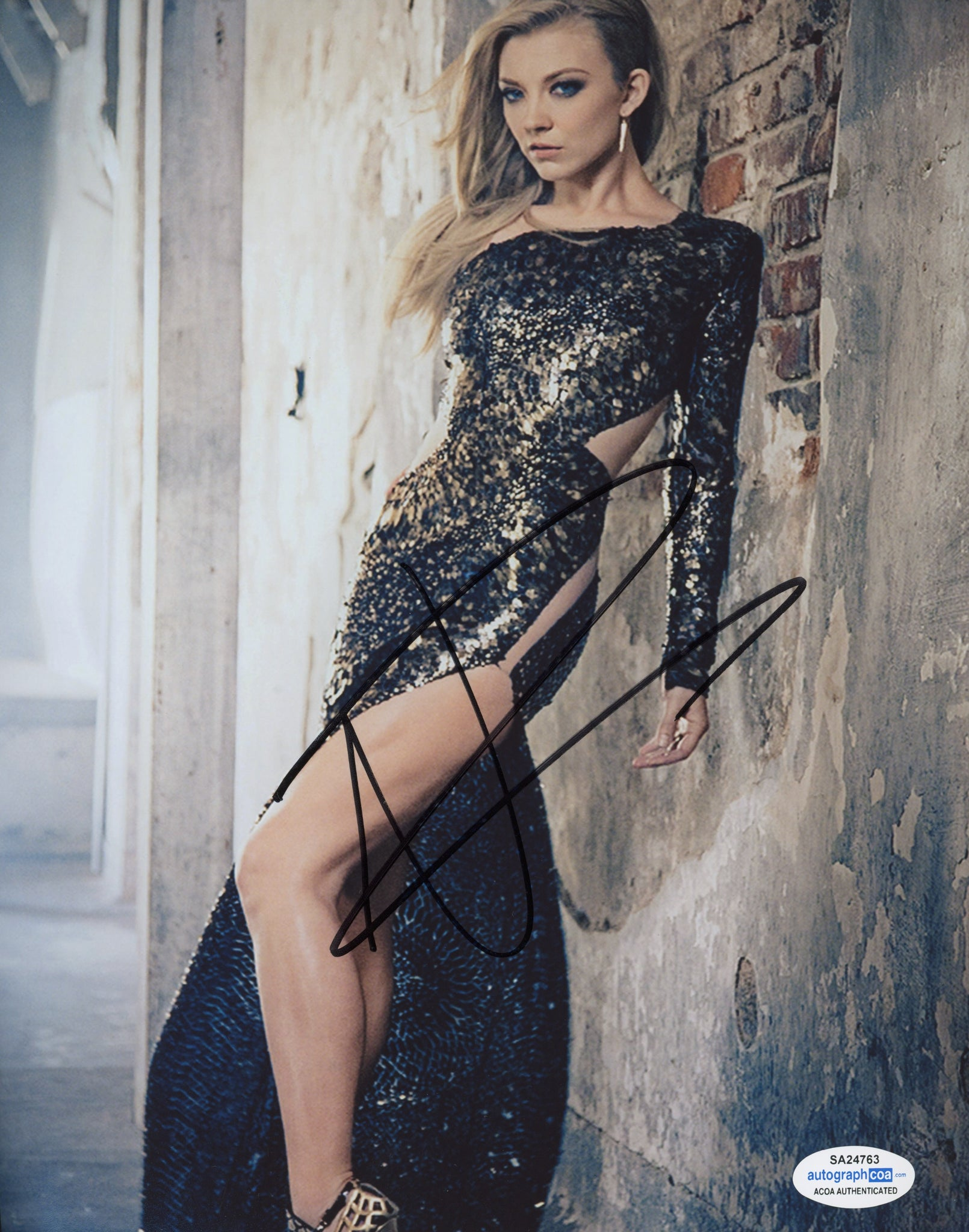 Natalie Dormer Sexy Signed Autograph 8x10 Photo #18 - Outlaw Hobbies Authentic Autographs
