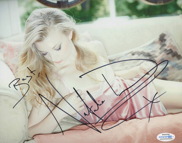 Natalie Dormer Sexy Signed Autograph 8x10 Photo #16 - Outlaw Hobbies Authentic Autographs