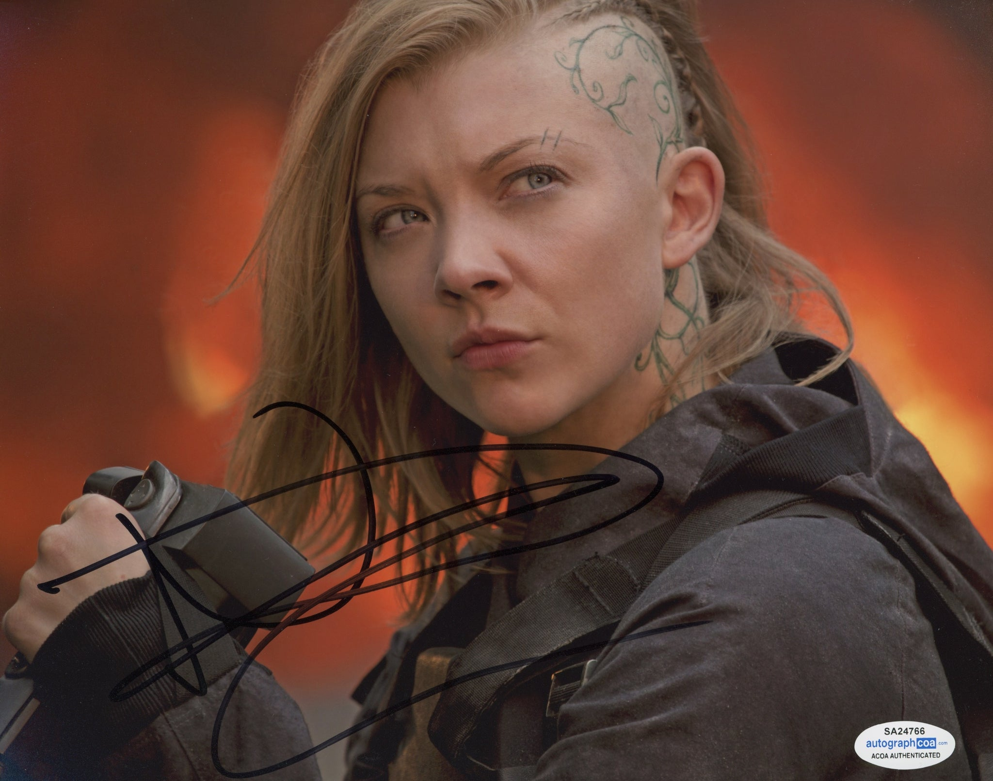 Natalie Dormer Sexy Signed Autograph 8x10 Photo #15 - Outlaw Hobbies Authentic Autographs
