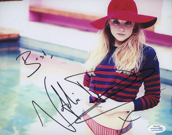 Natalie Dormer Sexy Signed Autograph 8x10 Photo ACOA - Outlaw Hobbies Authentic Autographs