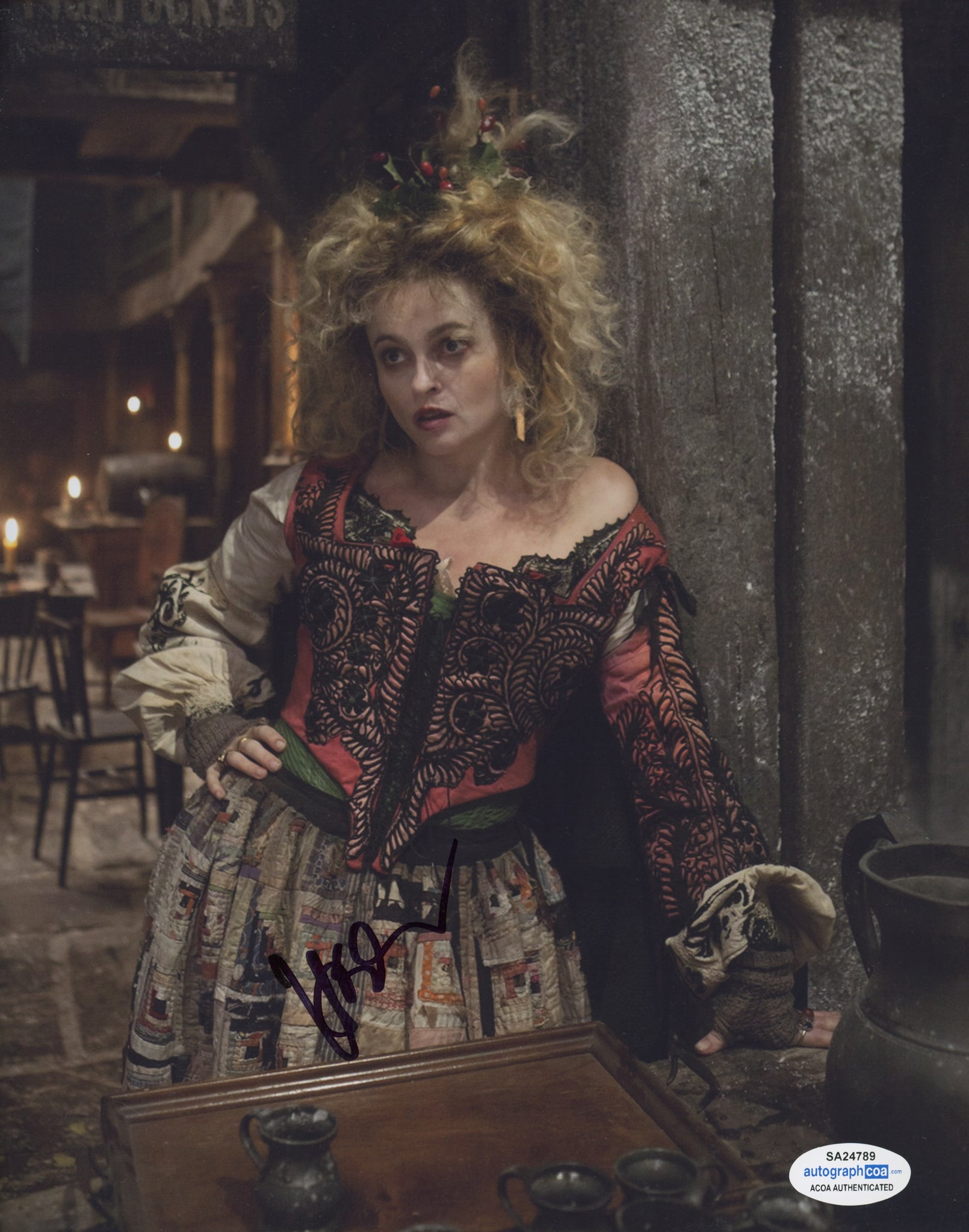 Helena Bonham Carter Les Miserables Signed Autograph 8x10 Photo ACOA #2 - Outlaw Hobbies Authentic Autographs